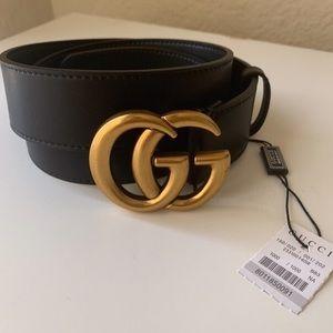 yNew Gucci Belt Åüthentïć Double G Marmot